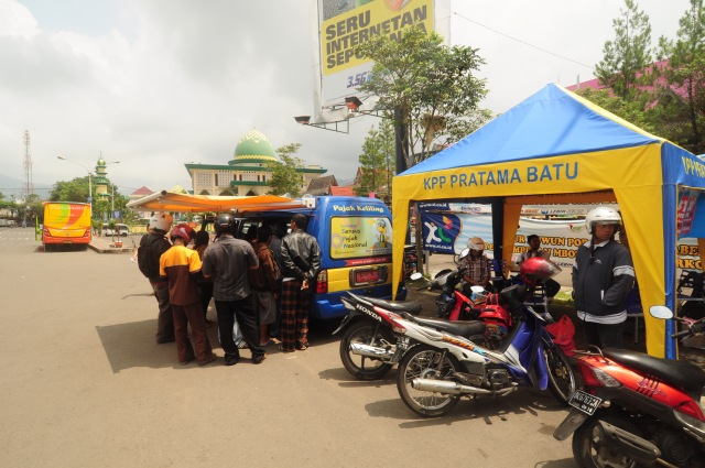 Tenda Drop Box KPP Pratama Batu